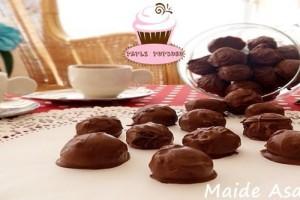 Çikolatalı Misket Kurabiye Nasıl Yapılır