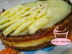 Tatlıtutkusu-Ananaslı Cheesecake