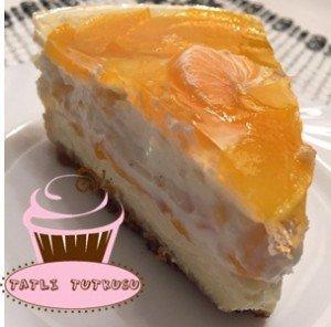 tatlitutkusu-Şeftali ve Mandalinalı Cheesecake , Şeftali ve Mandalinalı Cheesecake  tarifi , Şeftali ve Mandalinalı Cheesecake  nasıl yapılır ,  cheesecake tarifleri