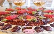Hurmalı Kakaolu Kek Nasıl Yapılır