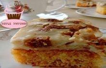 Karamelli İncirli Pasta Nasıl Yapılır