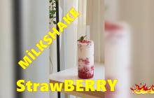 "Kore Usulü Çilekli Milkshake "" Strawberry"""