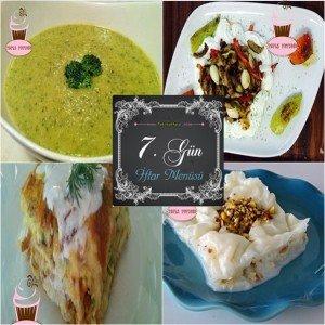 7.gün iftar menusu
